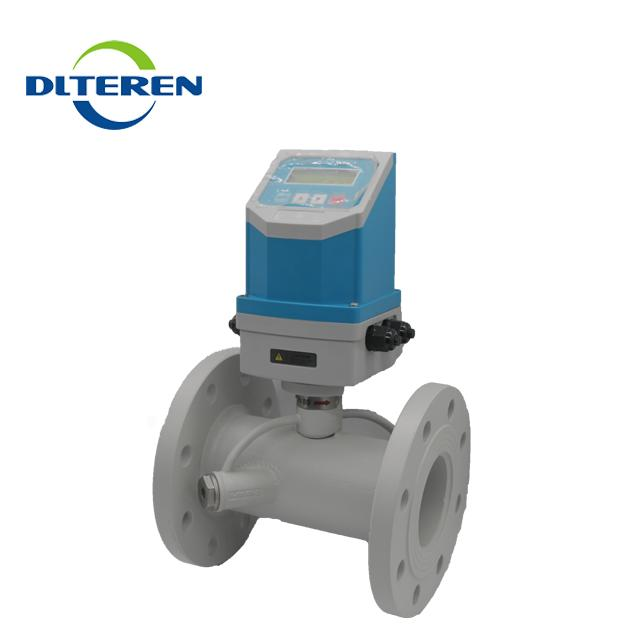 Fixed Integrated Inline Pipe Type ultrasonic flow meter