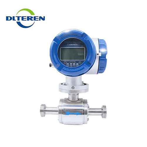 Electromagnetic flow meter no pressure loss measuring instruments china