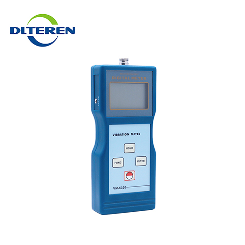 High performance digital measure precision sensitivity accelerometers vibration meter