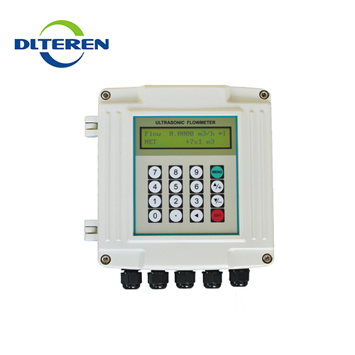 Wide measurement range no moving parts wall mount portable ultrasonic flow meter price