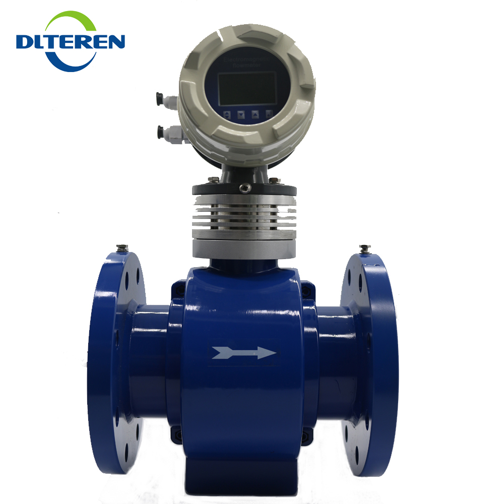 Hard rubber liner cheap electromagnetic flow meter water